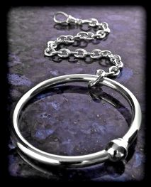Solid Silver Teething Ring